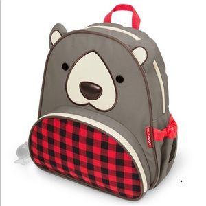 Skip hop Blake the Bear backpack NWT